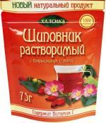 Шиповник с Боярышником и Мятой  (75г) в пакете с многоразовой застежкой.